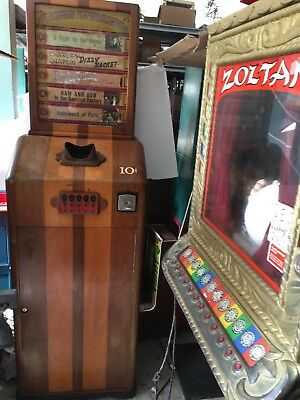 Selecto Mutoscope 5-Reels Coin-operated Machine Rarest of the Mutoscope's