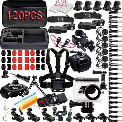Neewer 120 In 1 Outdoor Sport Accessory Kit for Gopro Hero 6 5 4 3 2 1 Camera