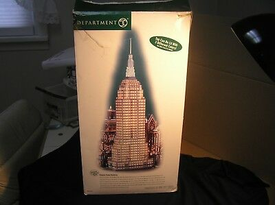 Dept 56 Empire State Building - Christmas in the City Series  (not working)