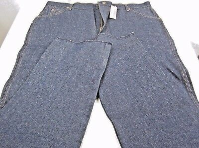 Two pair of NOS Vintage Sears Roebucks Jeans Unfinished Hem made in USA size 40