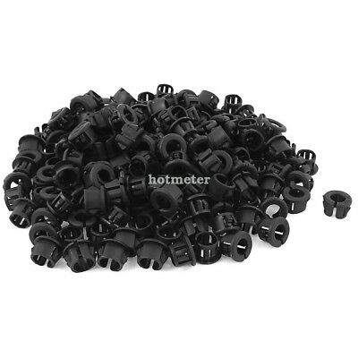 200Pcs OSB-13 7.5mm Wire Hole Dia Cable Harness Protector Snap Bushing 15.1mm OD