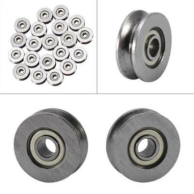 10PCS 3*12*4mm Skateboard Bearing Miniature Bearing V-groove bearings V623ZZ