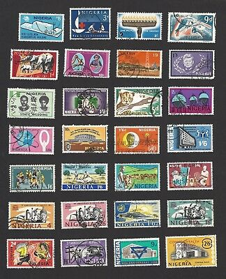 Nigeria 1960s used collection x