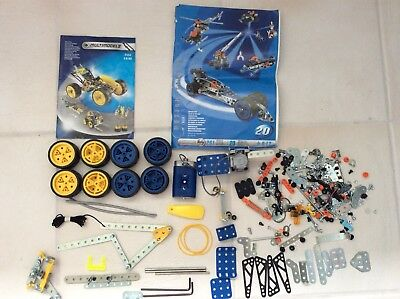 Meccano multi model 4550 Set Multimodel Includes Instructions, Motor, Wheels