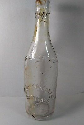 Antique Henry Corcoran Spirits/medicine Bottle  Cortland  Ny