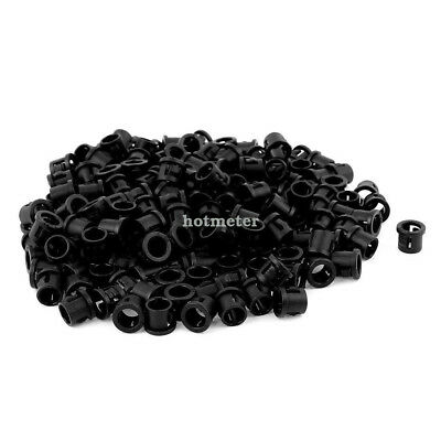 200Pcs SB-8 5.2mm0.2 Plastic Wire Hole Dia Cable Harness Protector Snap Bushing