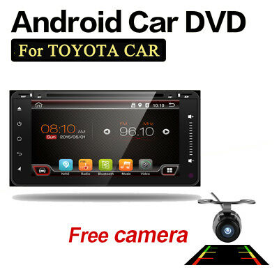 AUTORADIO 2 DIN Quad 4 Core Mid GPS NAVI USB MP3 VEDIO PLAYER DVD CD FOR TOYOTA