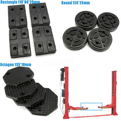 3 Types Heavy Duty Rubber Arm Pads Car Lift Accessories for Auto Truck Hoist