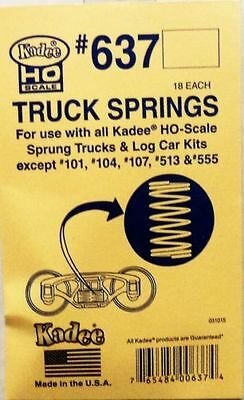 Kadee #637 Truck Springs for all except #513 #555  HO scale