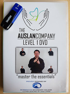 Auslan for Beginners - 6 week Level 1 course (on USB)