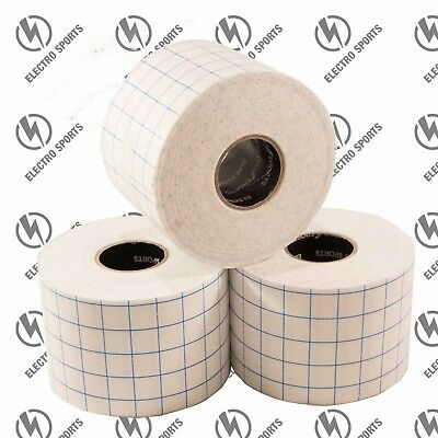 HYPOALLERGENIC UNDERWRAP FIXED STRETCH TAPE - 3 Rolls x 50mm x 10m