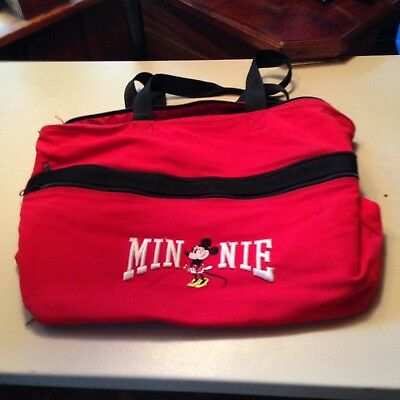 Minnie Mouse Red And White Cloth Tote