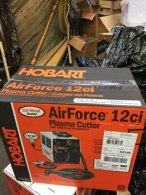 Hobart AirForce 12ci 115V Portable Air Plasma Cutter 500564 Mint Used Once New