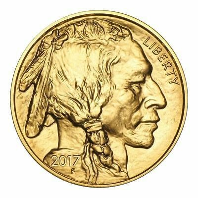 2017 American Gold Buffalo 1 oz Gold Coin | Direct From US Mint Tube