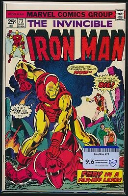 Marvel Comics Iron Man #73 1975 Cbcs Raw Grade 9.6 Change To Stark International