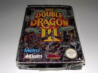 Double Dragon III The Sacred Stones Nintendo NES Boxed PAL *No Manual*