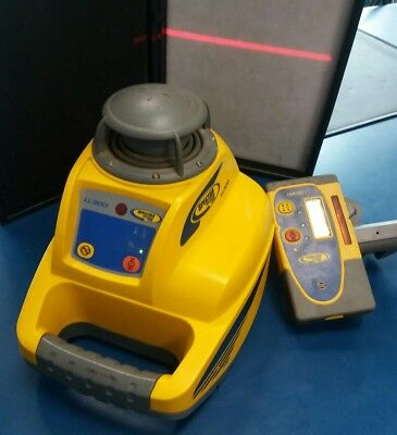 Spectra Precision Trimble - Ll300 - Rotating Laser Level And Hr350 Receiver