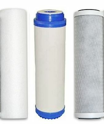 3 Stage HMA Heavy Metal Reduction Water Filter System Replacement Cartridges