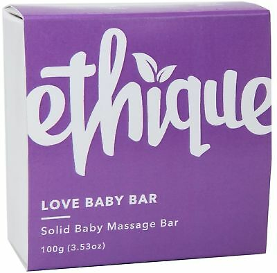 Ethique Baby Massage Bar, Love Baby Bar 3.53 oz (Pack of 9)