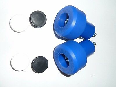 Kawasaki Zx12R Zx12 R 2000-2006 Blue Crash Mushrooms Sliders Bungs Bobbins  R9D4