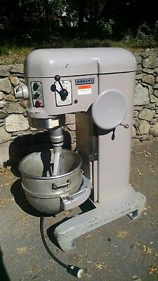 Hobart 60 qt mixer #H-600T with bowl and flat beater