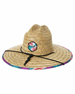 New Rip Curl Women's Hot Shot Straw Hat Natural
