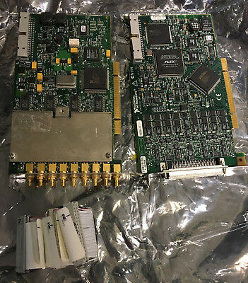 National Instruments PCI 4472 8 Ch Input  (1 is bad) and PCI 6713 Analog output