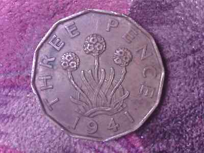 Great Britain  Threepence 1941