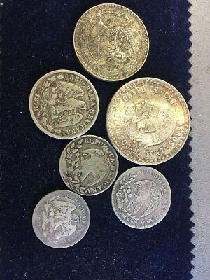 Mexico Coinage From 1800 And 1900s