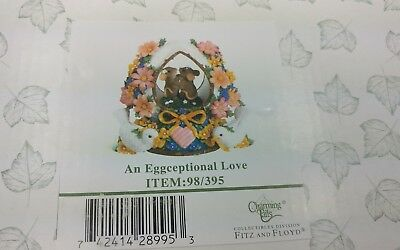 Charming Tails An Eggceptional Love Figurine New In Box