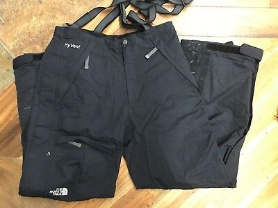 The North Face HyVent High-Quality Waterproof Breathable Ski/Snow Pants Men's M