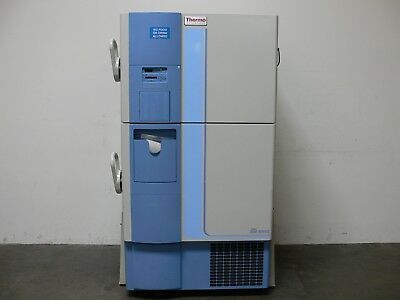 Thermo Fisher Scientific 8695  -86 ºC Double Door Laboratory Freezer  -  Tested