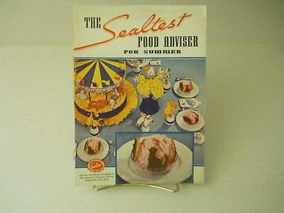 1937 The Sealtest Food Adviser For Summer 1937 Recipes 15 Pages