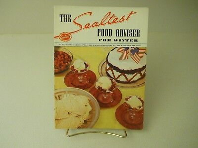 1938 The Sealtest Food Adviser For Winter 1938 Recipes 15 Pages