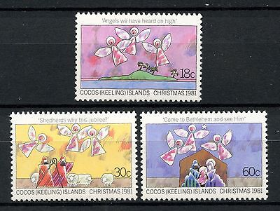 Cocos (Keeling) Islands 1981 Christmas  MNH
