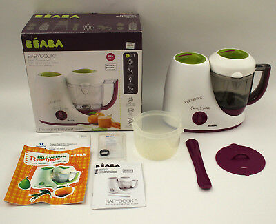Beaba Babycook Classic Babyfood Maker Steamer Gipsy Excellent Condition    0175A