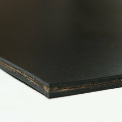 3 Pack 2 Ply Heavy Black Conveyor Belt - Rubber Sheet Black