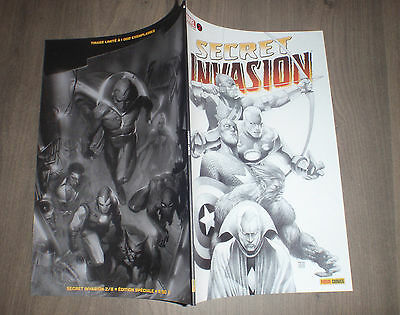 PANINI @ secret invasion  @ Edition variant 2 - noir et blanc