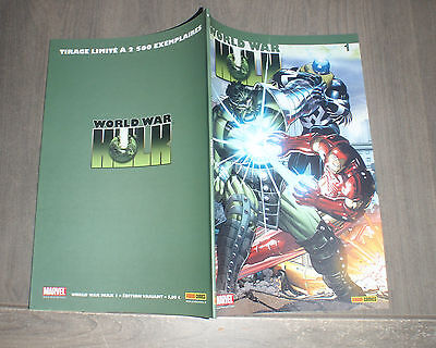 PANINI @ world war Hulk @ Edition variant 1