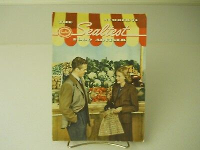 Number 74 The Sealtest Food Adviser Recipes 11 Pages 1948