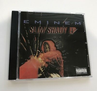 EMINEM SLIM SHADY EP Collectors Re Issue 2017 Rare Sealed Infinite 1998 1997
