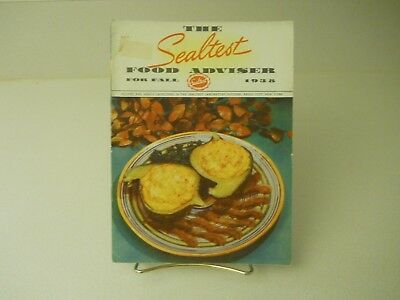 1938 The Sealtest Food Adviser For Fall 1938 Recipes 15 Pages