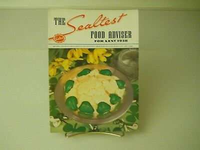 The Sealtest Food Adviser For Lent 1938 Recipes 15 Pages