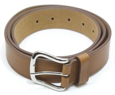 Cole Haan Men's 35 MM Buff Harness Leather Belt, Tan, Size 38 - NEW w/ Tags
