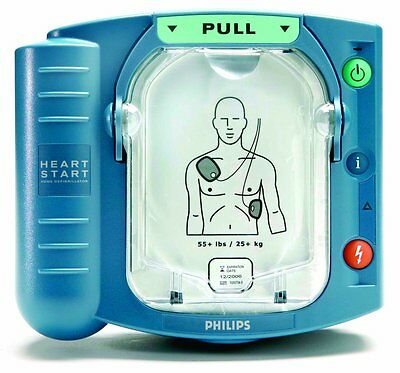 NEW ! Philips HeartStart OnSite AED Automated External Defibrillator M5066A-C02