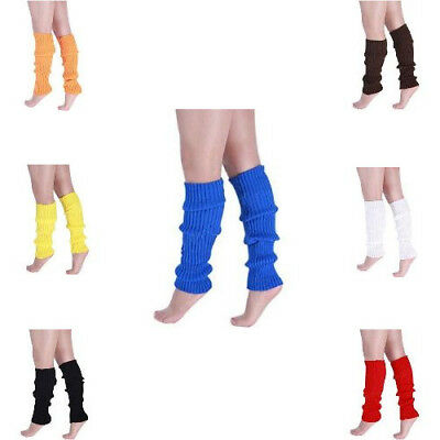 Winter Stylish Warm Knitted Crochet Long Socks Leg Warmers Legging For Women