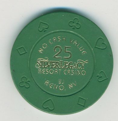 Rare eBay offering - $25 no cash value (NCV) chip from the Silver Legacy in Reno
