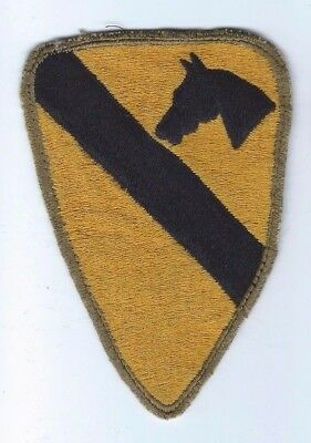 JAPANESE MADE Original CUT-EDGE WW2 1st CAVALRY DIVISION US Army Military