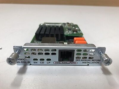 Cisco EHWIC-VA-DSL-M 1-Port VDSL/ADSL WAN Interface Card