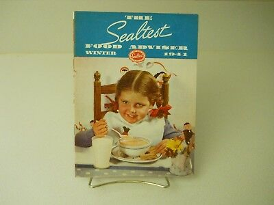 The Sealtest Food Adviser Winter 1941 Recipes Book 11 Pages